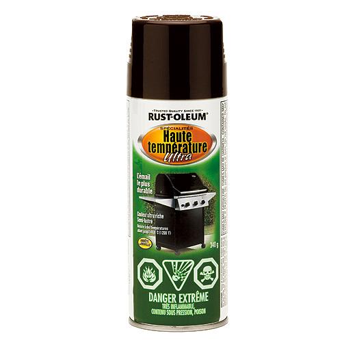 Peinture en aérosol haute température 340g - Brun