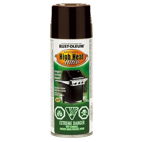 High Heat Spray Paint 340g - Brown