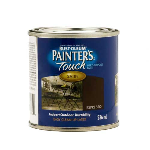 Peinture int/ext, Painter's Touch, à usages multiples, latex, 236 ml, expresso