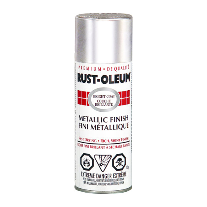 Rust-Oleum - Coat Paint - Metallic Finish - 312 g - Chrome