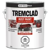 Peinture antirouille, Tremclad, 3,78 l, fini semi-lustré, noir