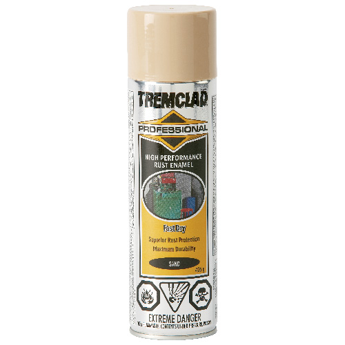 Tremclad High Performance Rust Enamel - 426 g - Flat Finish - Sand