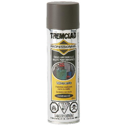 .Émail antirouille haute performance Tremclad, 426 g, fini mat, bronze anodisé