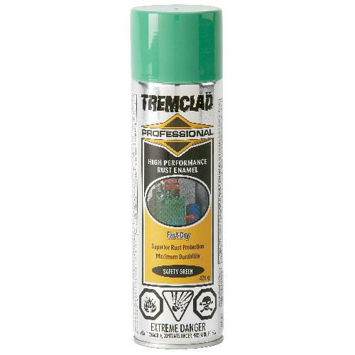 Tremclad High Performance Rust Enamel - 426 g - Gloss Finish - Safety Green