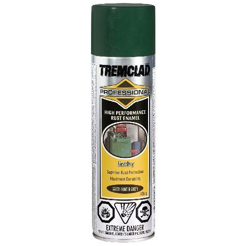 Tremclad High Performance Rust Enamel - 426 g - Gloss Finish - Safety Hunter Green