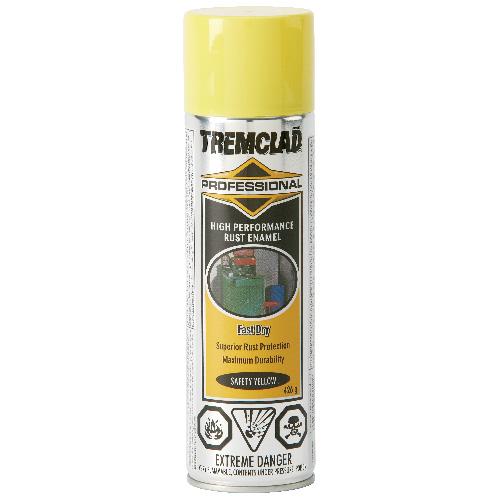 Tremclad High Performance Rust Enamel - 426 g - Gloss - Safety Yellow