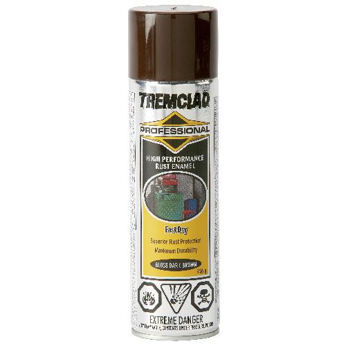Tremclad High Performance Rust Enamel - 426 g - Gloss Finish - Dark brown