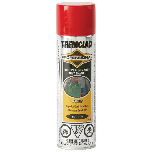 Tremclad High Performance Rust Enamel - 426 g - Gloss Finish - Safety Red