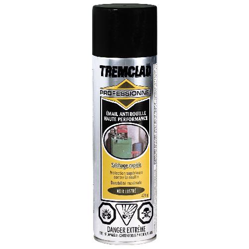 Émail antirouille haute performance Tremclad, 426 g, fini lustré, noir