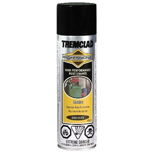 Tremclad High Performance Rust Enamel - 426 g - Gloss Finish - Black