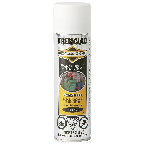 Émail antirouille haute performance Tremclad, 426 g, fini mat, blanc