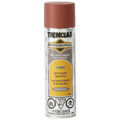 Tremclad High Performance Rust Primer - 426 g - Flat - Red