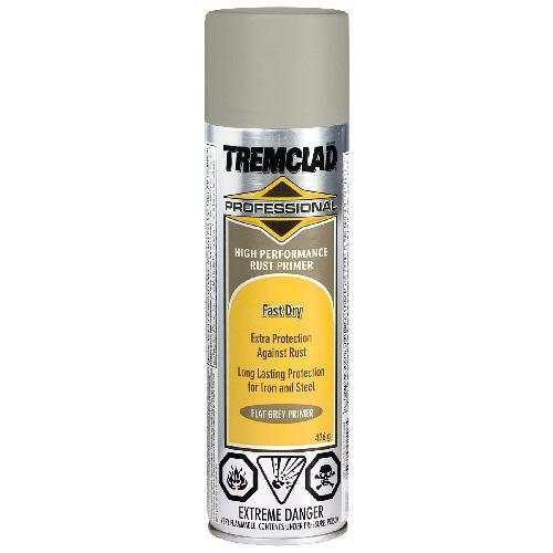Tremclad High Performance Rust Primer - 426 g - Flat - Grey