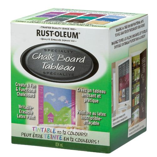 Rust-Oleum - Chalkboard Paint - 824 mL - Tintable Base