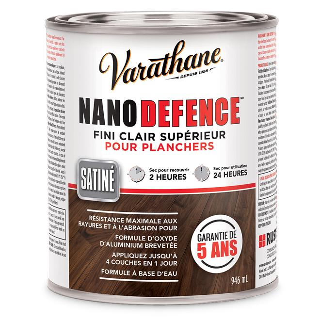 Vernis pour plancher « Nano Defence »