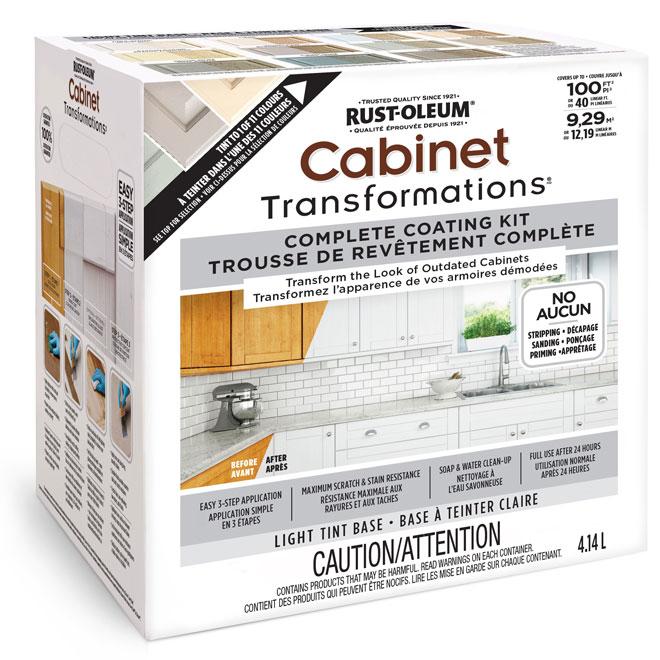 Cabinet Refinishing System