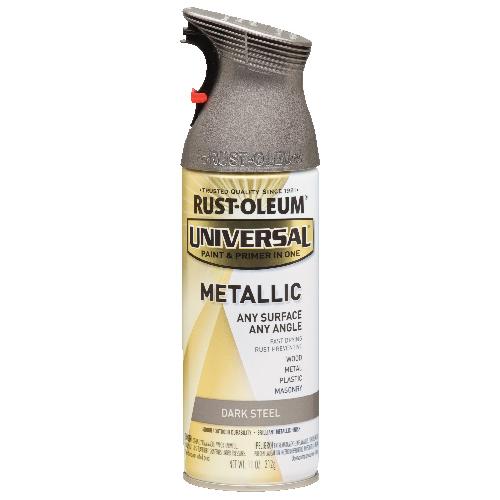 Peinture métallique en aérosol