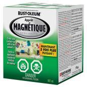 Apprêt magnétique, alkyde, 887 ml, gris pâle