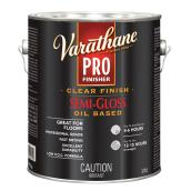 Varathane Pro - Floor Paint - 3.78 L - Semi-Gloss - Clear