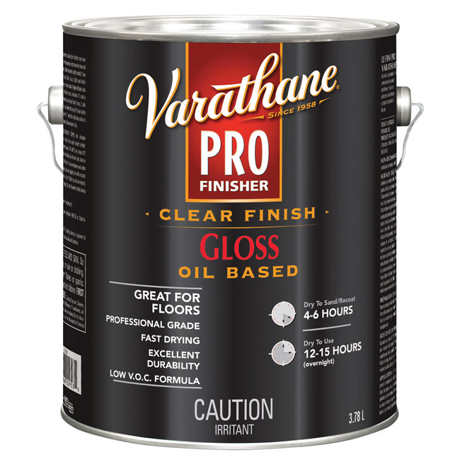 Varathane Pro - Floor Paint - 3.78 L - Gloss - Clear