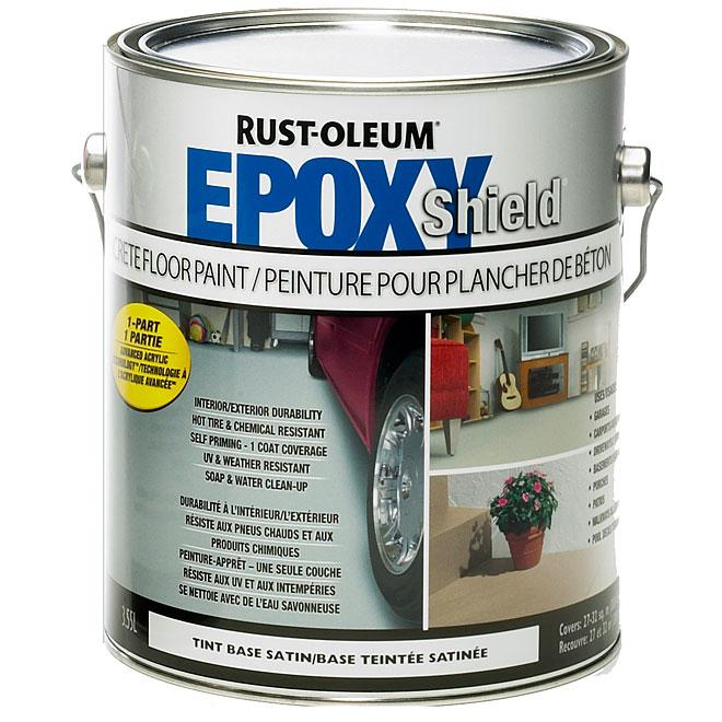 """""""EpoxyShield"""" Paint"""