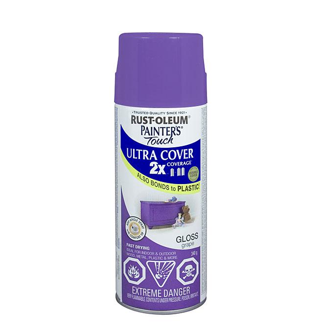 Ultra Cover 2X Spray Paint - Interior/Exterior - 340 g - Grape - Gloss