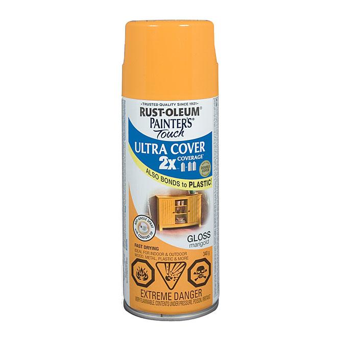 Ultra Cover 2X Spray Paint - Interior/Exterior - 340 g - Marigold - Gloss