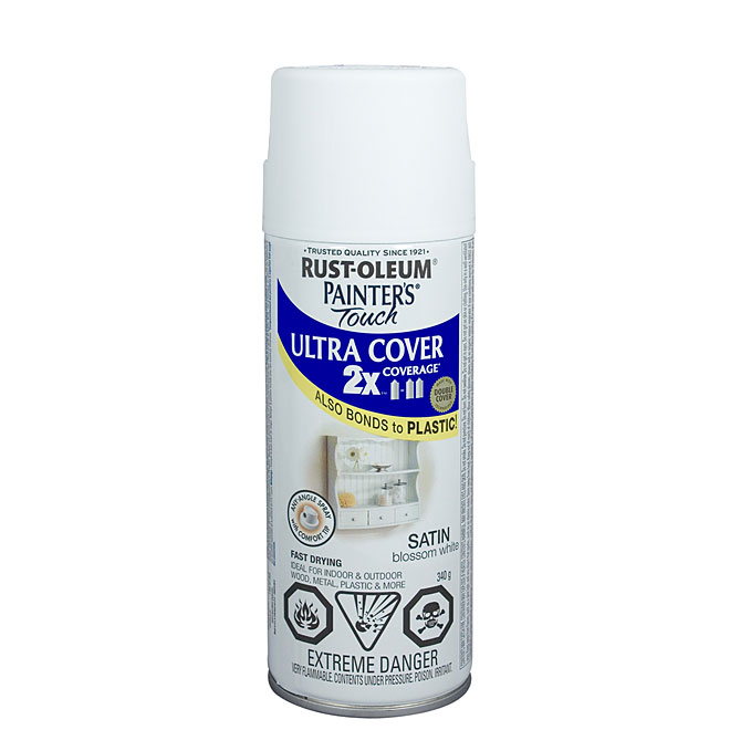 Ultra Cover 2X Spray Paint - Interior/Exterior - 340 g - Blossom White - Satin