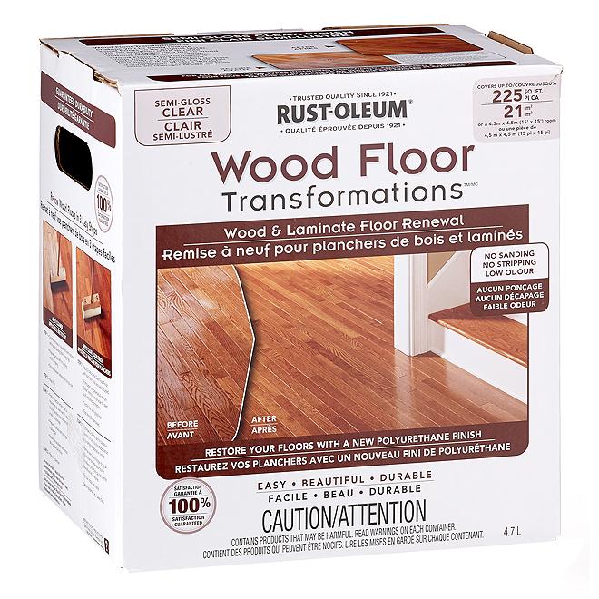 Floor Varnish Clear Semi-Gloss 3.7 L