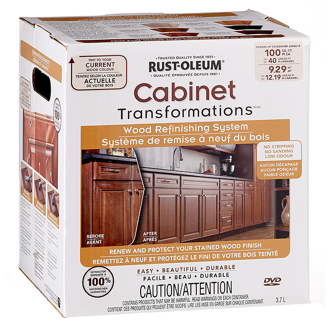 rust-oleum wood refinishing system - 3.7 l 266846   rona