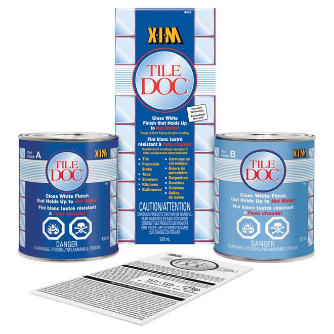 XIM Tile Doc(TM) Epoxy Tile Refinishing Kit | RONA
