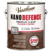 3.78 L Water Base Floor Varnish Flat Finish