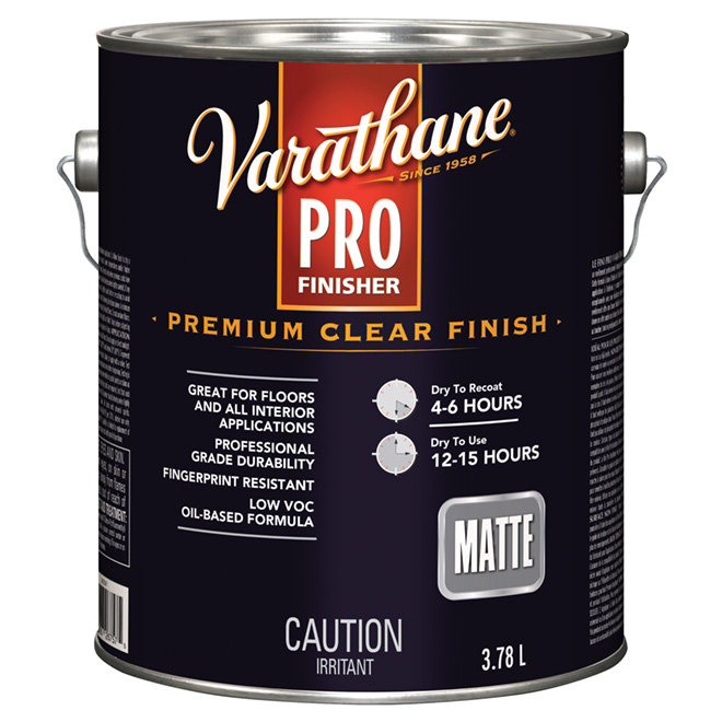 3.78 L Oil Base Floor Varnish Flat Finish