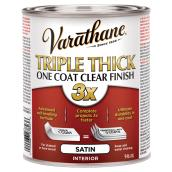 Triple Thick One Coat Finish - 946 ml - Clear Satin