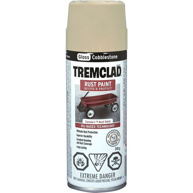Tremclad - Rust Paint - 340 g - Gloss Finish - Cobblestone
