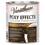 Varnish - Poly Effects - Semi-Gloss - Metallic Gold