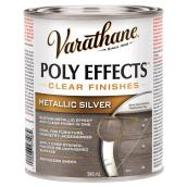 Varnish - Poly Effects - Semi-Gloss - Metallic Silver