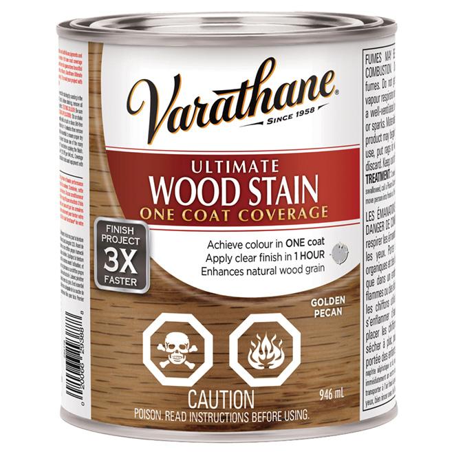 946 mL Ultimate Wood Stain Golden Pecan