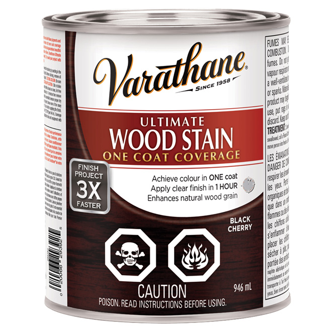 946 mL Ultimate Wood Stain Black Cherry
