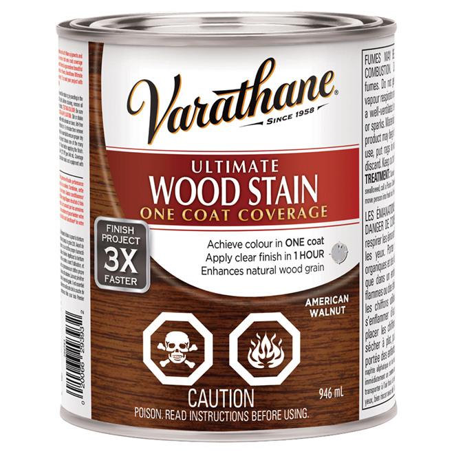 946 mL Ultimate Wood Stain American Walnut