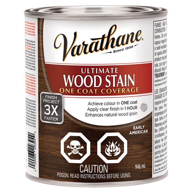 946 mL Ultimate Wood Stain Early American