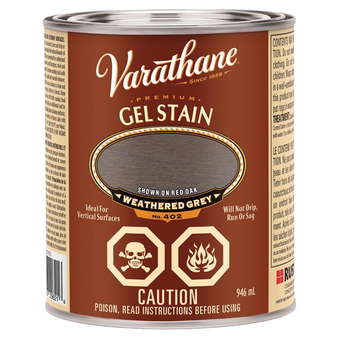 946 mL Premium Gel Stain Grey