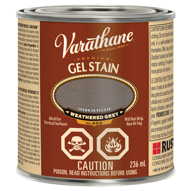 236 mL Premium Gel Stain Grey