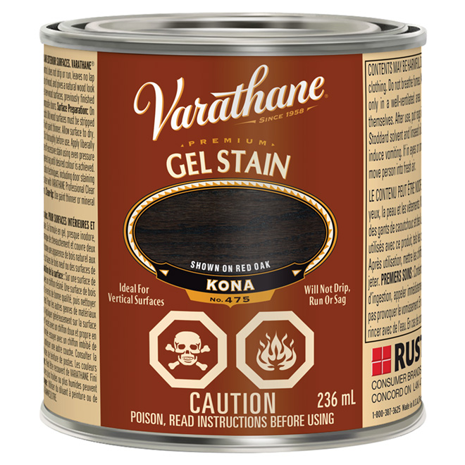236 mL Premium Gel Stain Kona