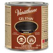 Varathane Interior Premium Gel Stain - Oil-Based - Opaque - Kona - 236 ml