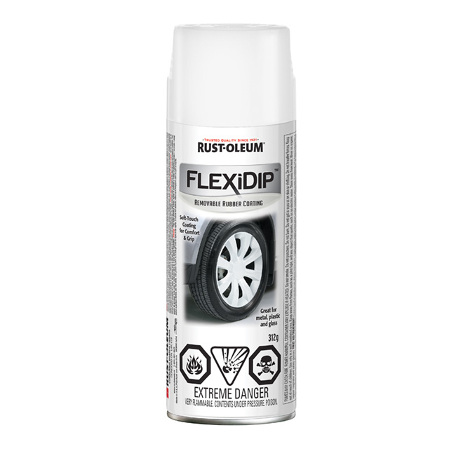 FlexiDip(TM) Removable Rubber Coating - White