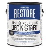 Apprêt pour bois Restore Deck Start, clair, 3,78 L