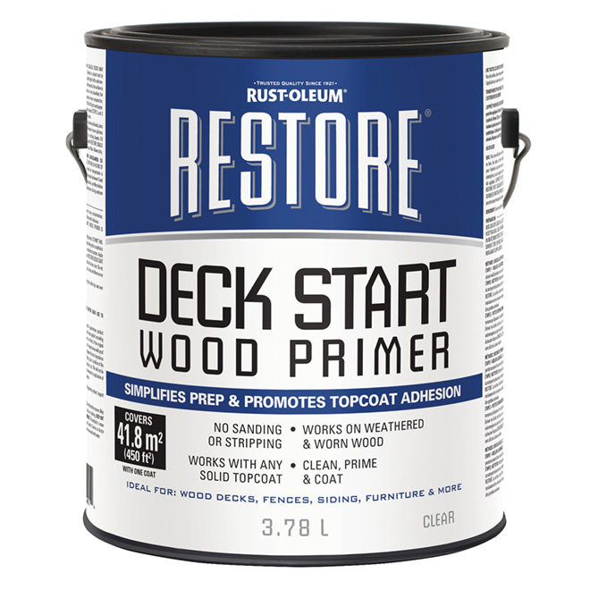 Restore Deck Start Wood Primer - 3.78 L - Clear