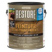 Teinture Restore semi-transparente, 3,43 l