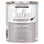 Chalked Ultra-Matte Paint - Aged Grey